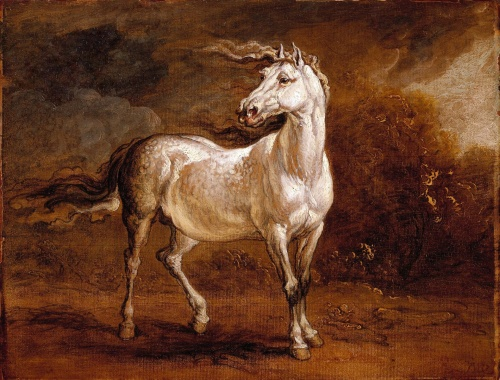 a-cossack-horse-in-a-landscape